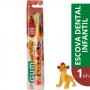 GUM - Escova Manual Disney Rei Leão (Lion King)