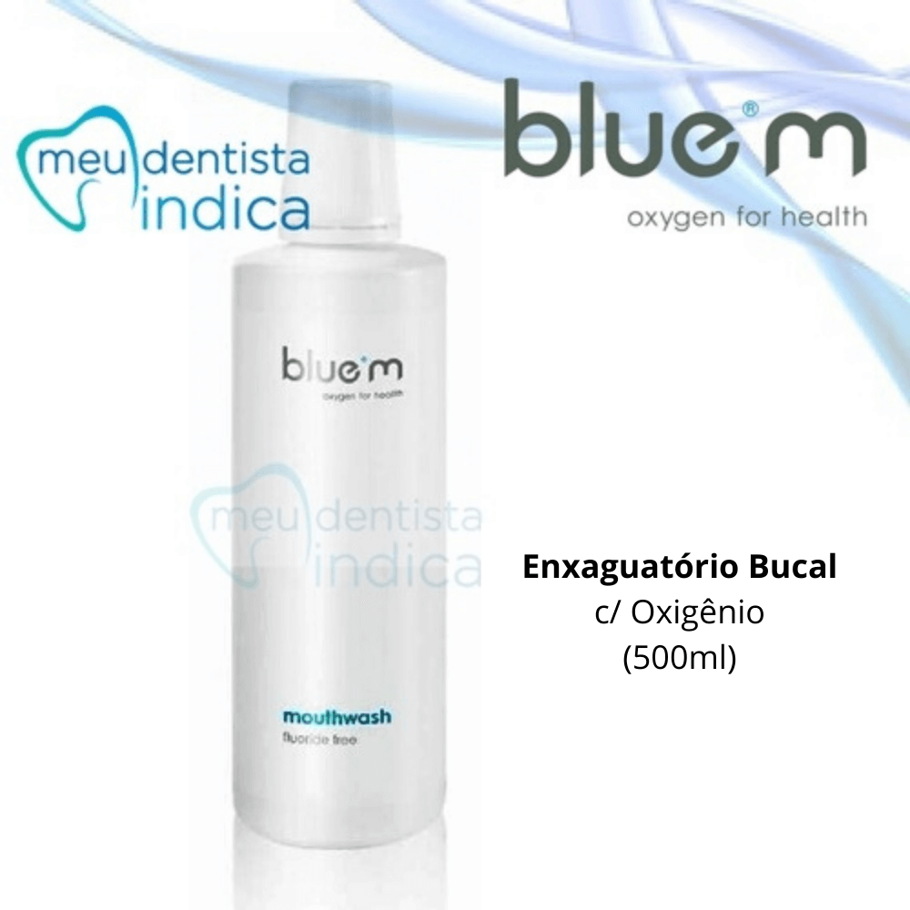 BLUE M: Enxaguatório Bucal 500ml