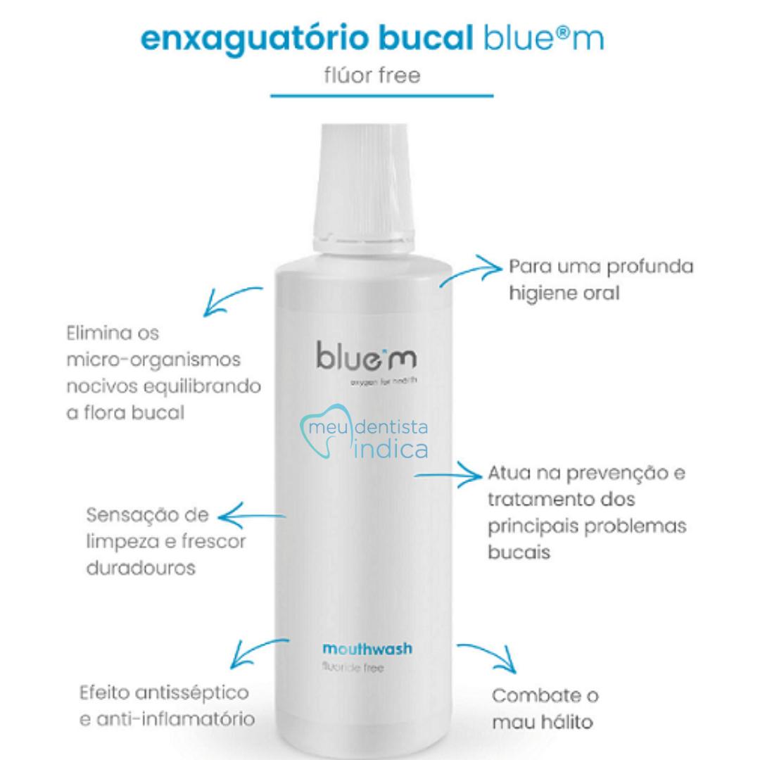 BLUE M: Enxaguatório Bucal 500ml