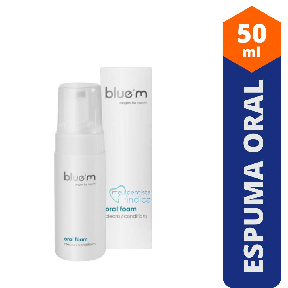 Blue M: Espuma Oral 50ml - Oral Foam
