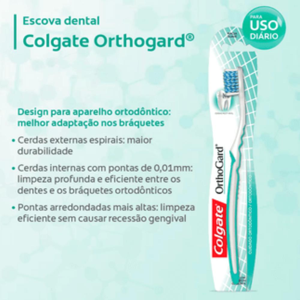 COLGATE - Escova Dental Ortodôntica - Orthogard