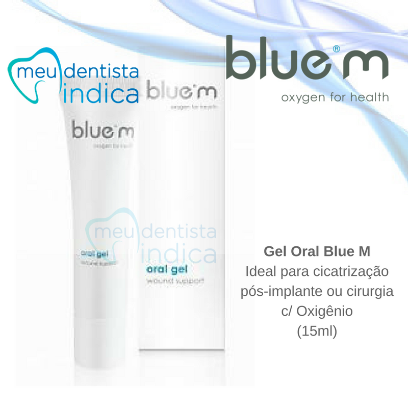 Combo 4 unidades Gel Oral Blue M - 15 ml