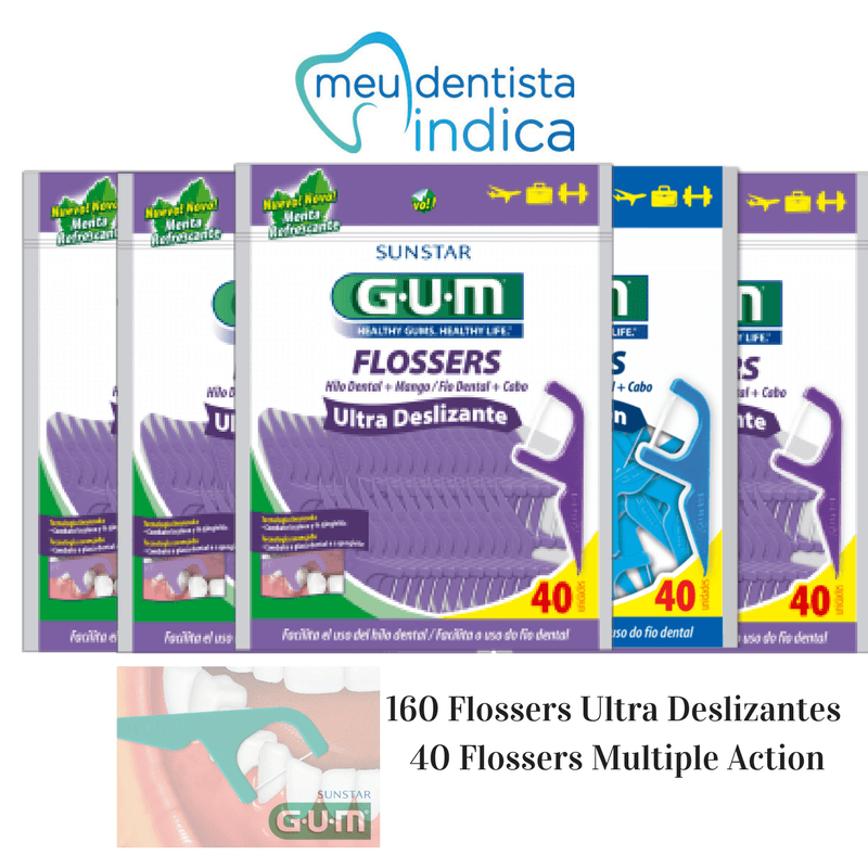 Combo Flosser UltraDeslizante + Flosser Multiple Action