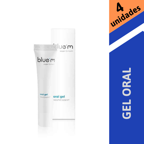 Combo Gel Oral Blue M - 15 ml - 4 unidades