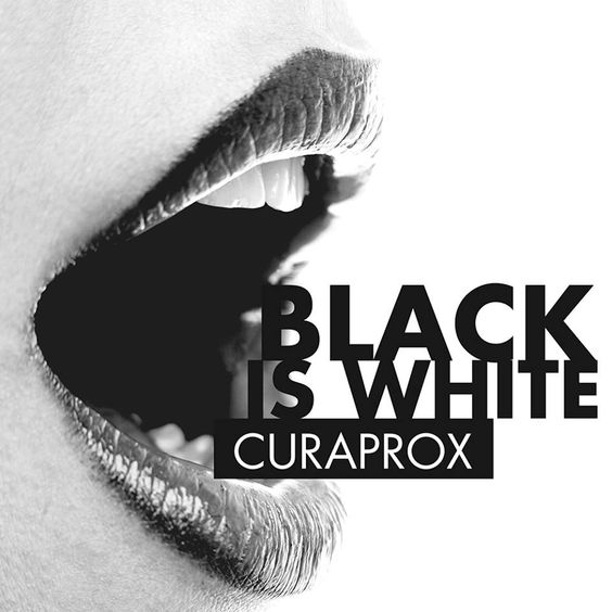 Creme Dental Curaprox - Black  is White 90g