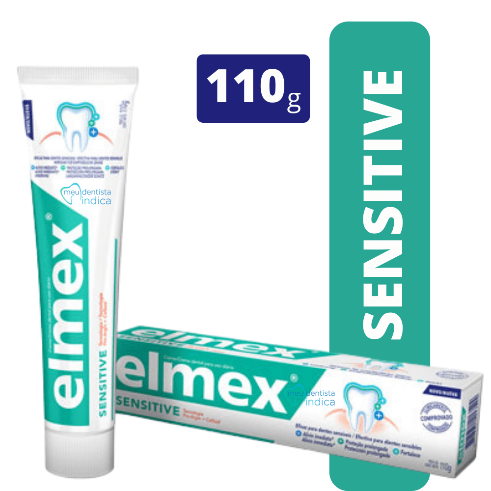 Creme Dental Elmex Sensitive - 110g