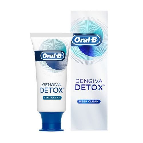 Creme Dental Oral B - Gengiva Detox Deep Clean (Limpeza Profunda)