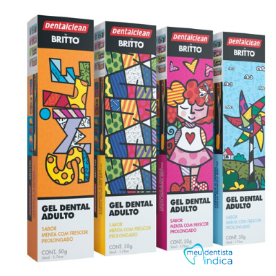 Gel Dental Romero Britto - 50g
