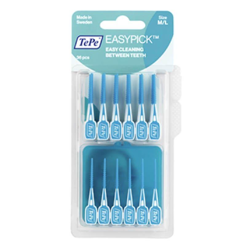 Easy Pick TePe Azul - 36 unidades M/L