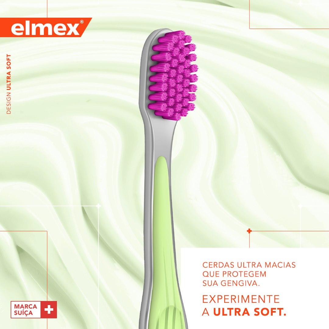 ELMEX - 5x Escova Dental Ultrasoft