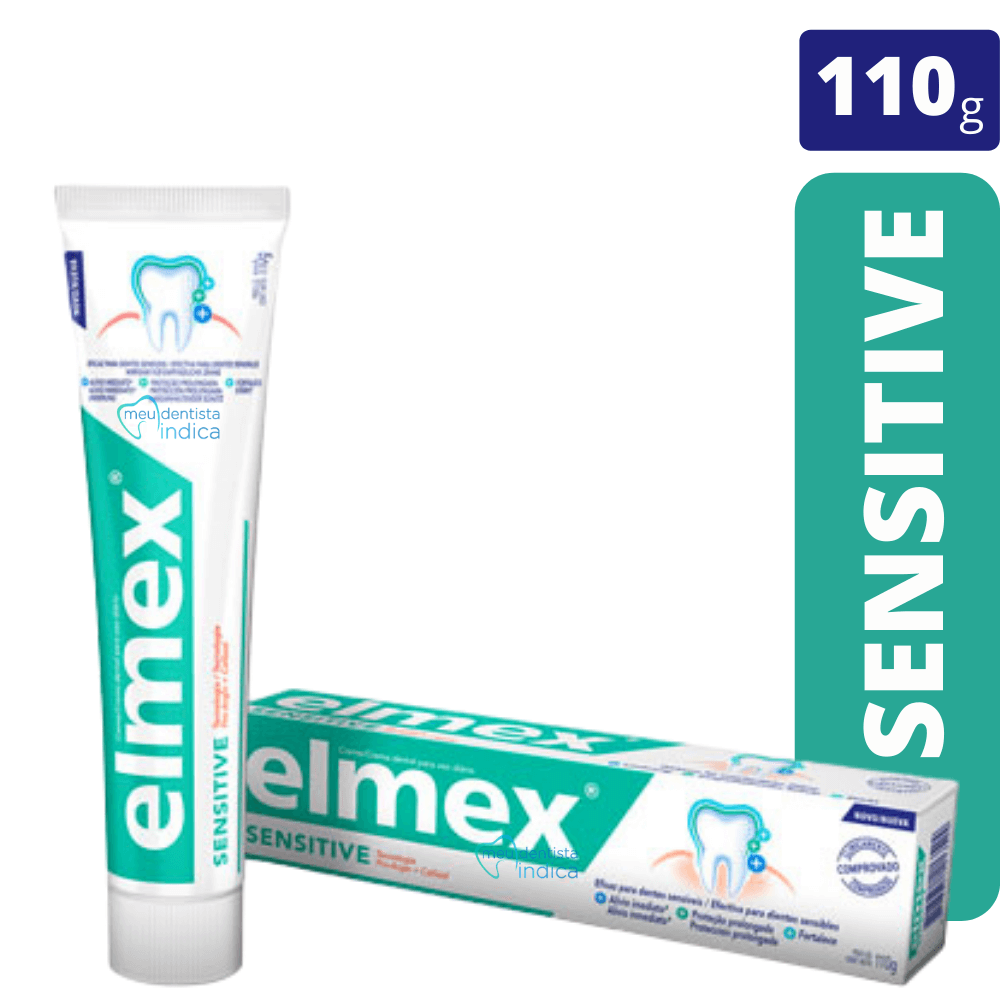 ELMEX - Kit Elmex Sensitive ( Enxaguatório+ Creme dental)
