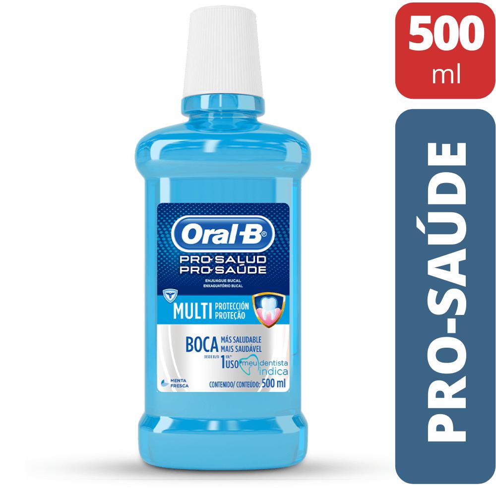 Enxaguatório Bucal Pro Saúde 500ml - Oral B