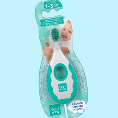 Escova Dental Baby Boni - 0 a 3 anos