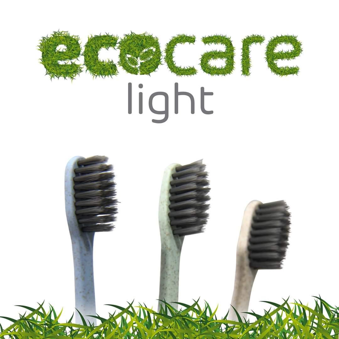 Escova Dental EcoCareLight (3 unidades)