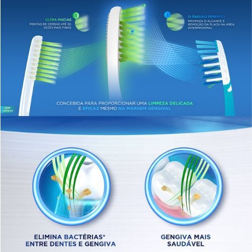 Escova Dental Gengiva Detox  Oral B - 2 unid