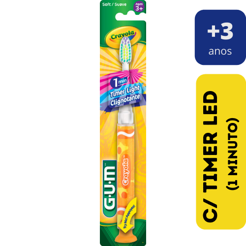 Escova Dental Infantil Com Led  - Crayola