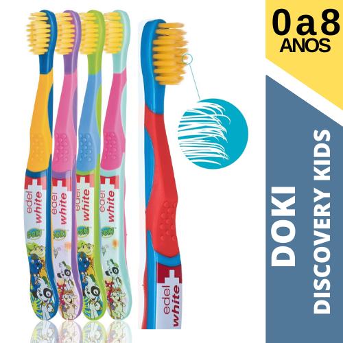 Escova Dental Infantil EDEL  - DOK Discovery Kids