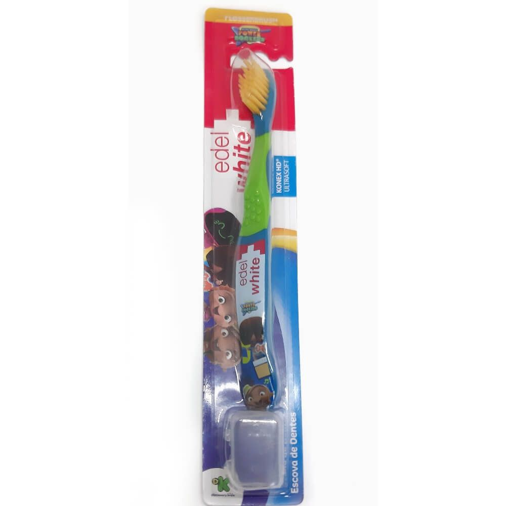 Escova Dental Infantil EDEL - Mini Beat Power Rockers