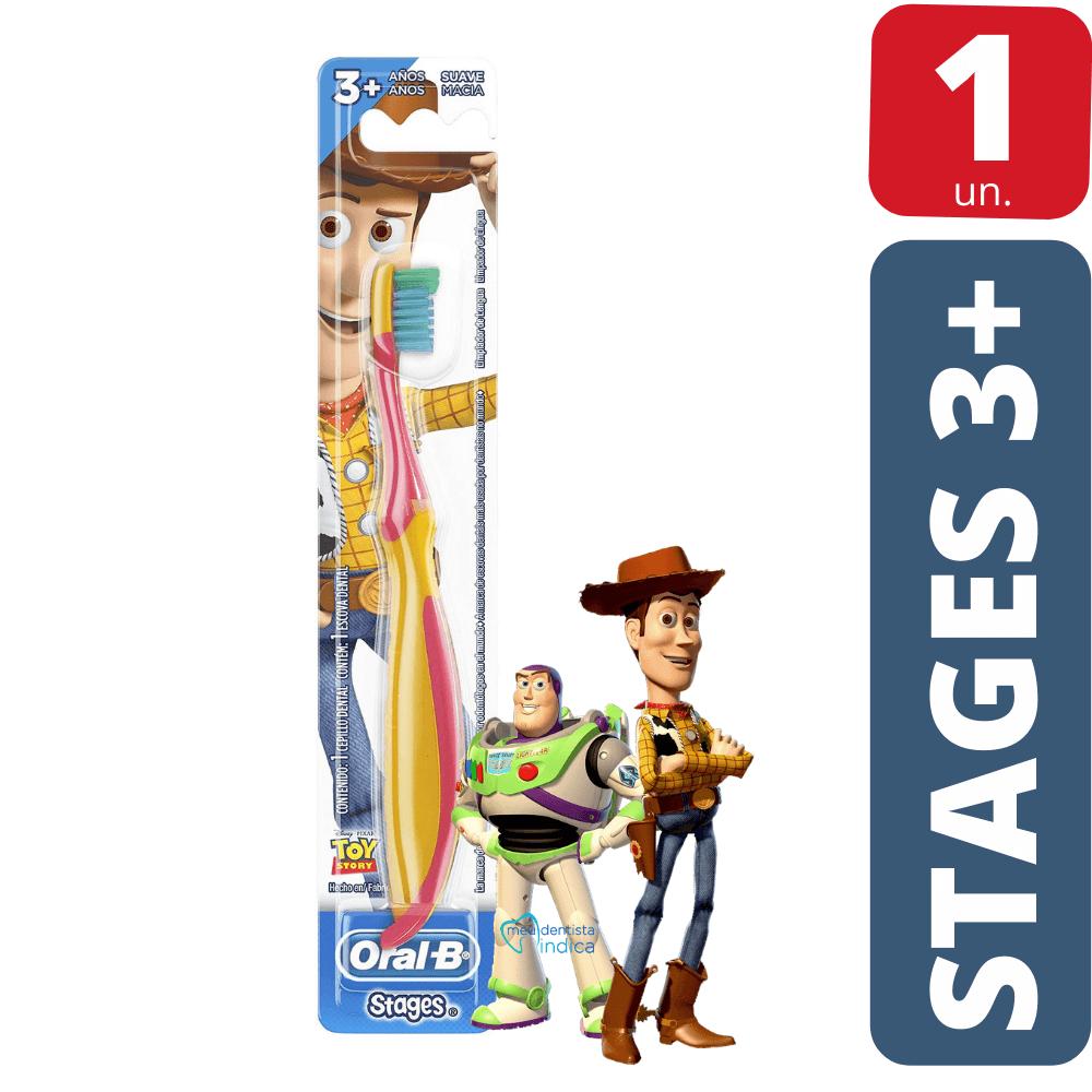 Escova Dental Infantil OralB Stages 3+ Toy Story
