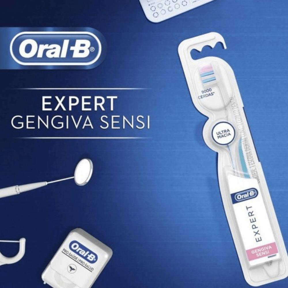 Escova Dental Oral-B EXPERT Gengiva Sensi
