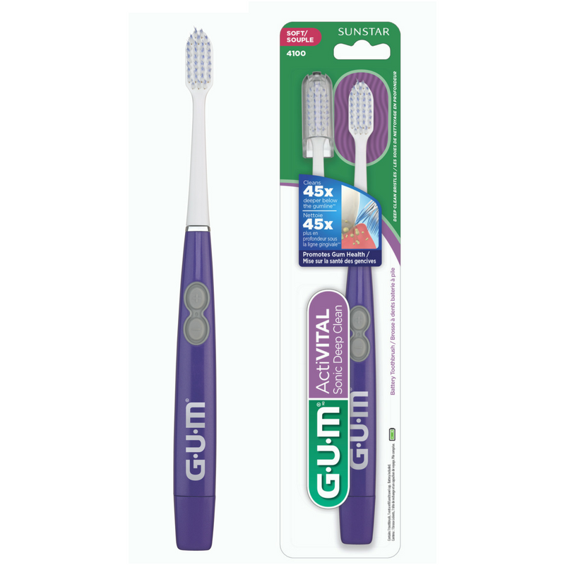 Escova Dental Deep Clean Sonic Power -  Gum Sunstar