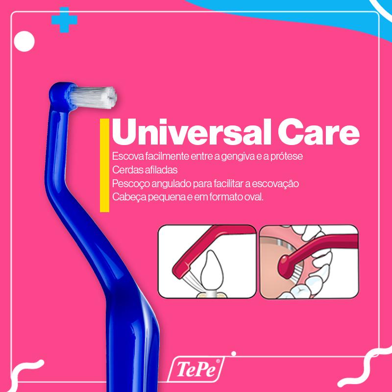 Escova Dental Universal Care Tepe (Implant Care)