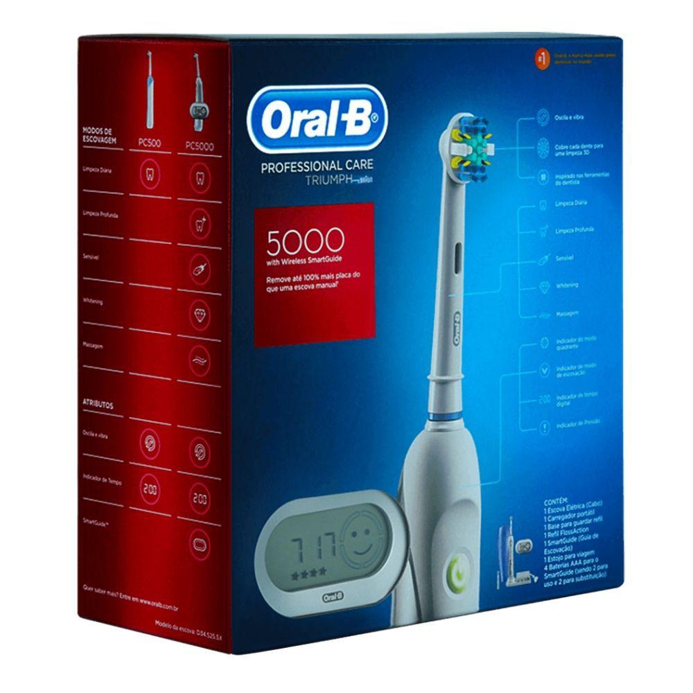 Escova Elétrica Oral B  Professional care 5000 - 127V