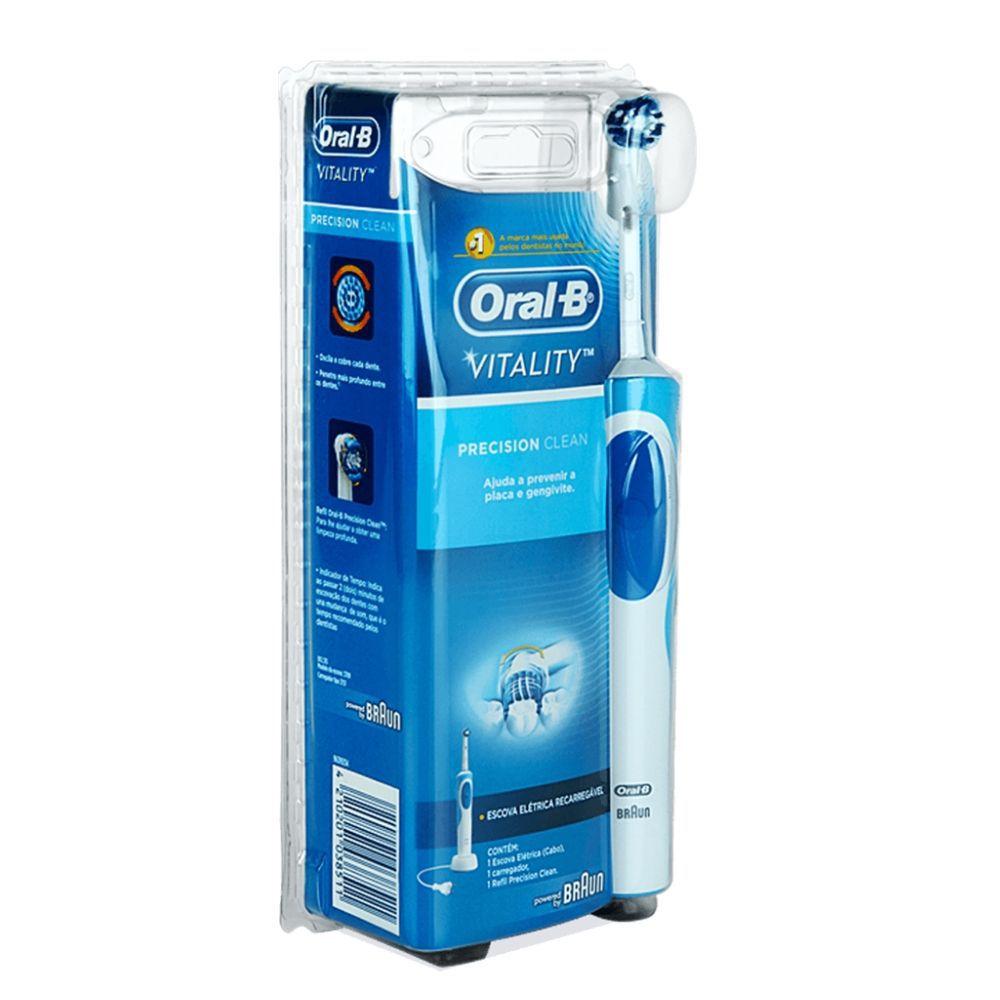 Escova Elétrica Oral B Vitality Precision CLEAN - 110V