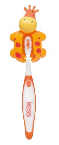 Escova Infantil com capa protetora