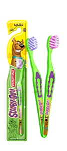 Escova Infantil Scooby Doo (Dental Clean)