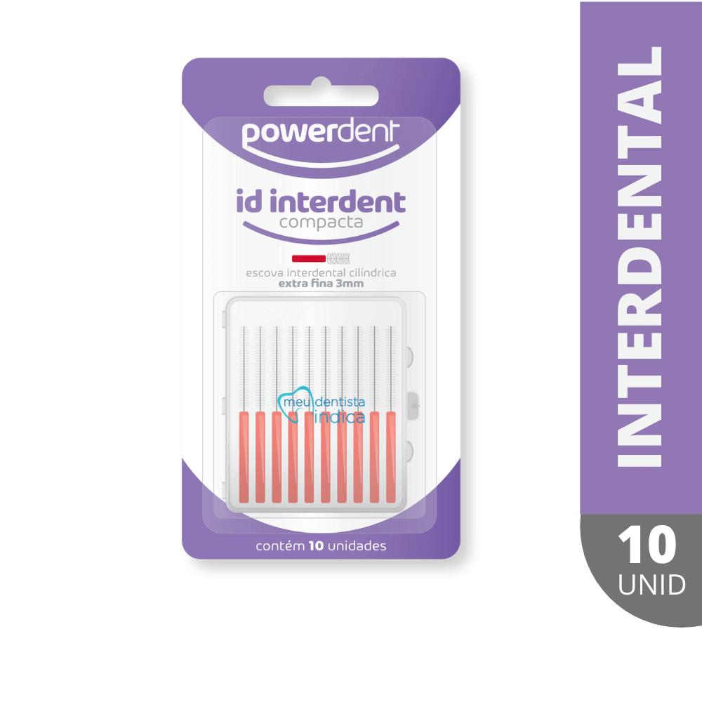 Escova Interdental c/10 unid (PowerDent)