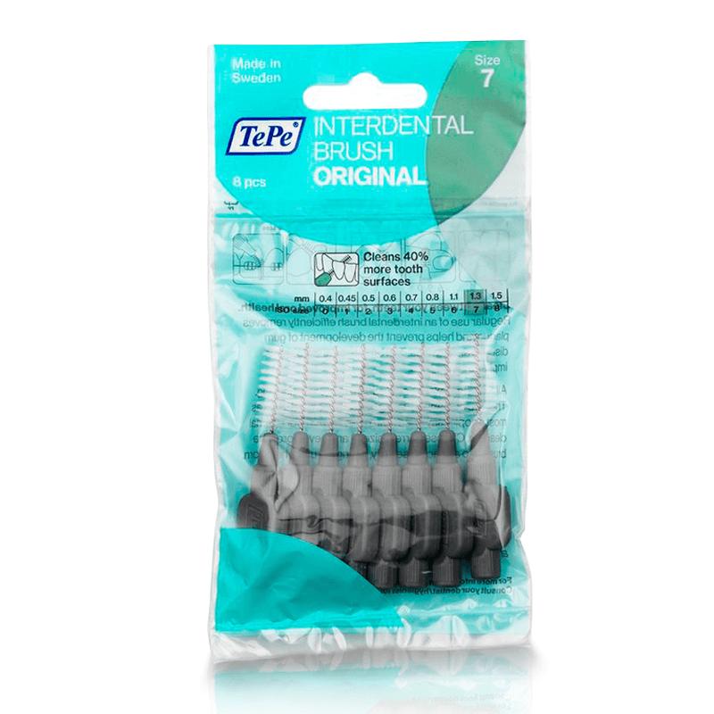 Escova Interdental Macia 1,3mm - Cinza (TEPE)