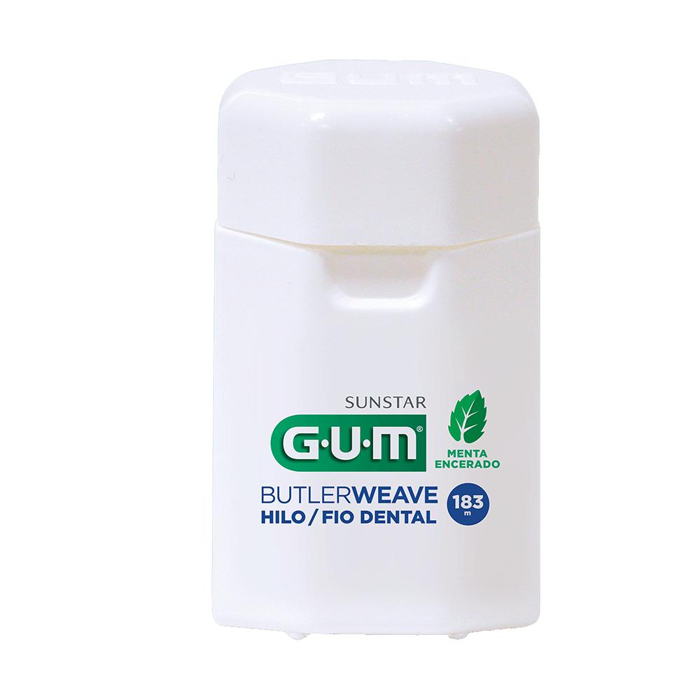 Fio Dental Adulto ButlerWeave GUM® - 183 mts