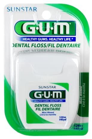 Fio Dental Encerado GUM® - 129 mts