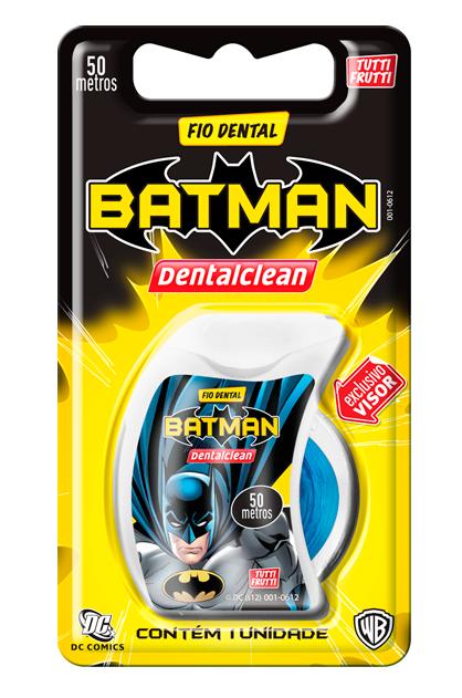 Fio Dental Infantil Batman - 50metros