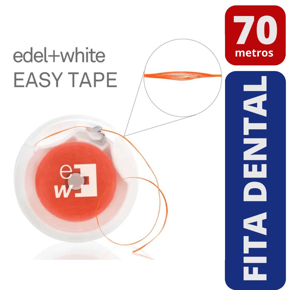 Fita Dental Encerada (Edel White) - 70m