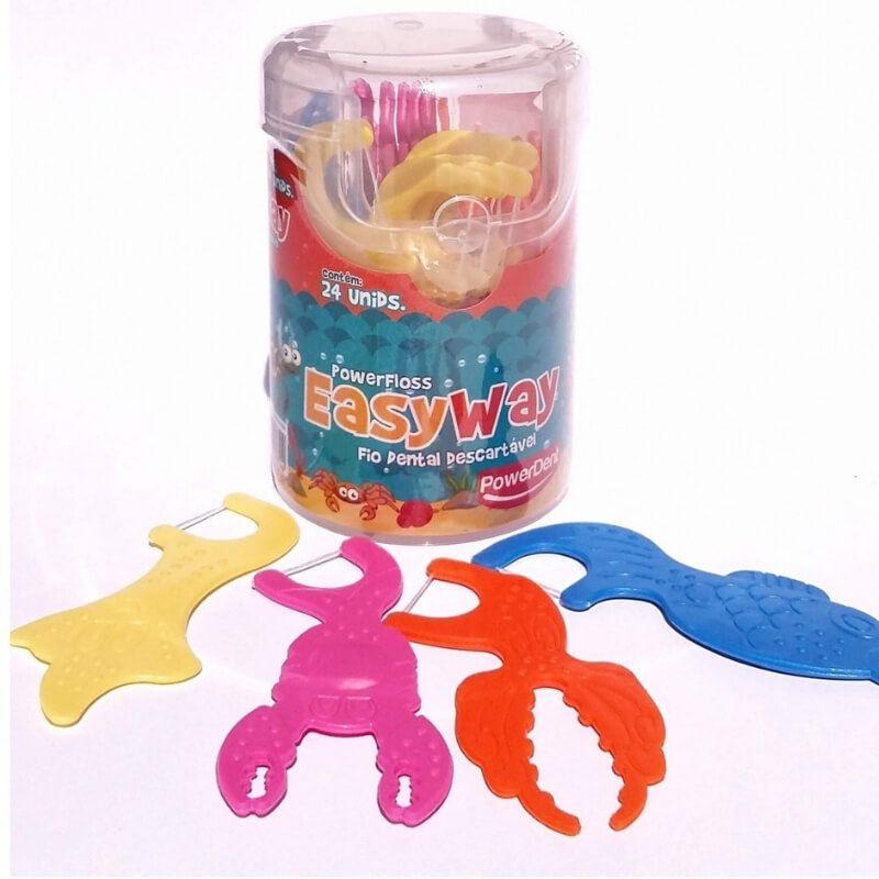 Flosser infantil Easy Way - 24 unidades