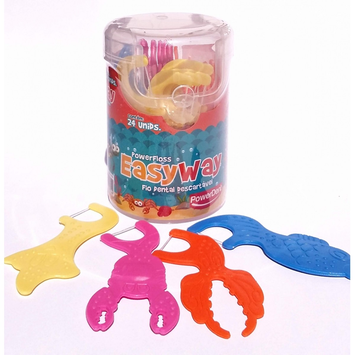 Flosser infantil Easy Way - 24 unidades