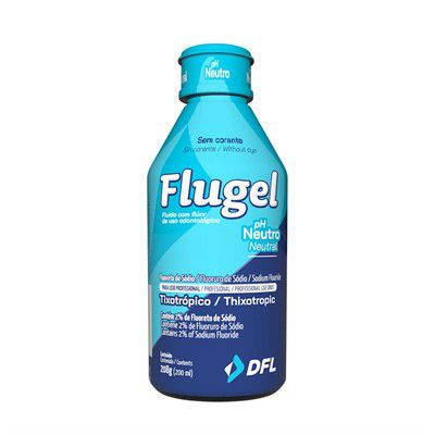 Flugel - DFL - Flúor Gel 200 ml
