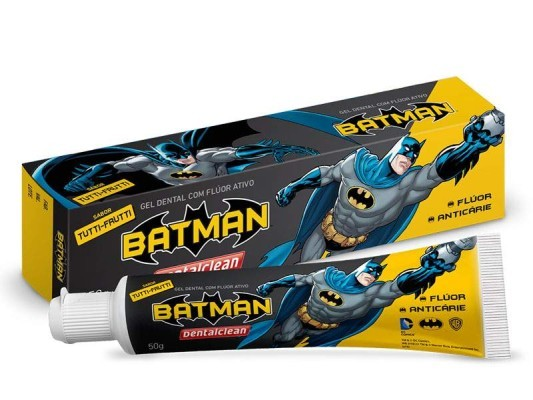 Gel Dental Infantil Batman 50g