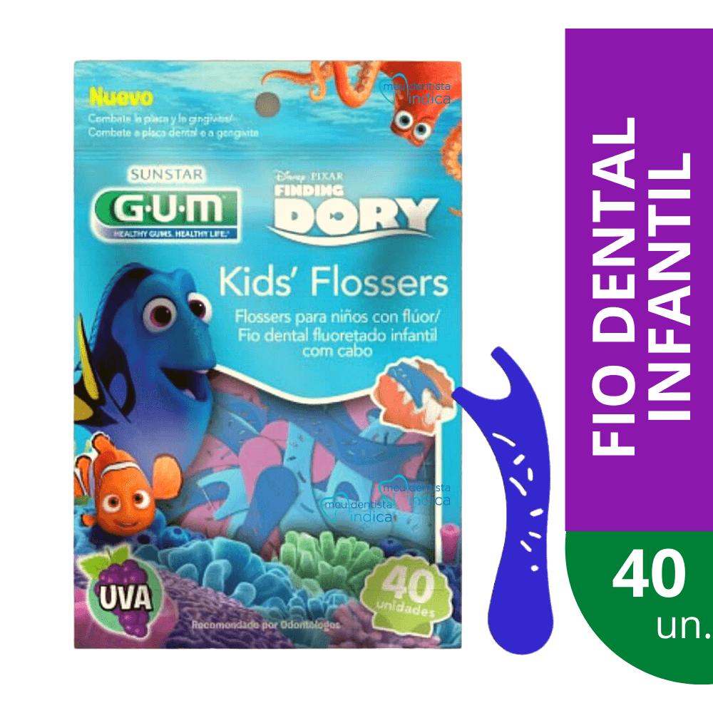 GUM - Kit Higiene Oral DORY Completo
