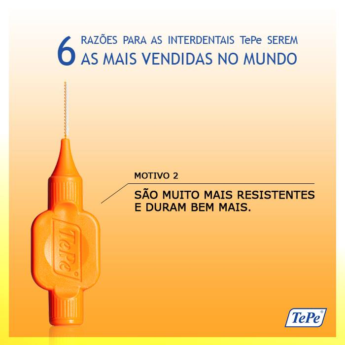 Interdental Macia 0,45mm - Laranja (TEPE)