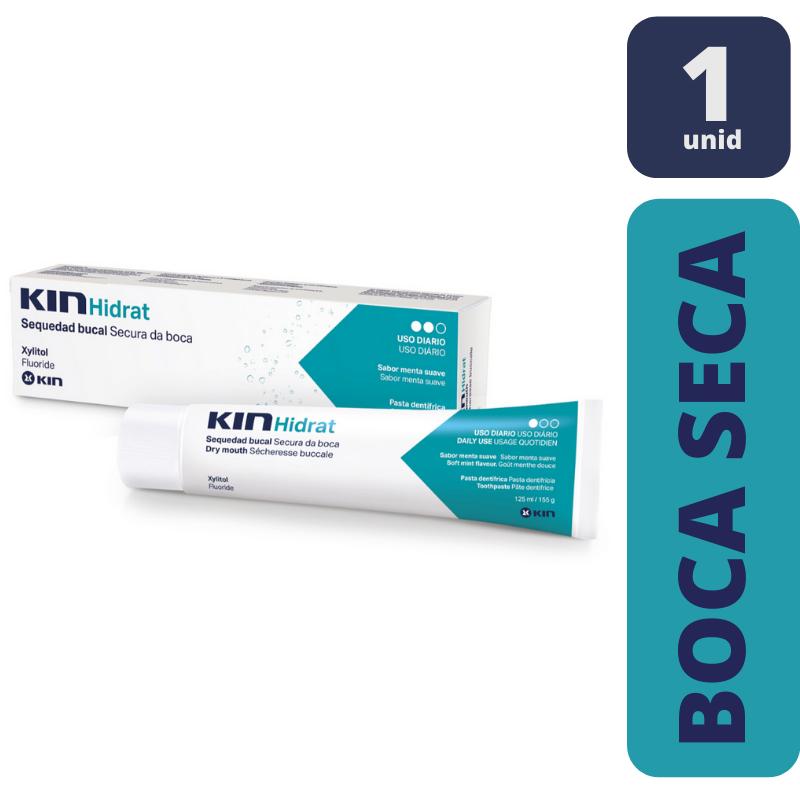 KIN Hidrat Pasta Dentifrícia p/ Boca Seca