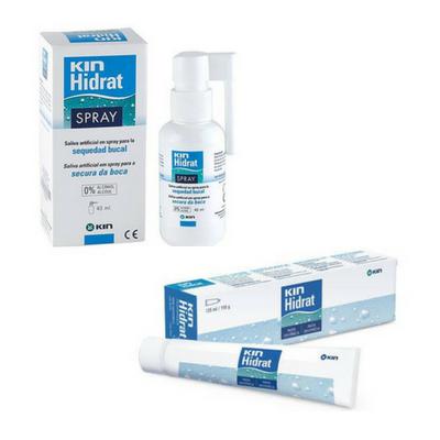 KIN HIDRAT - Spray + Creme Dental para Boca Seca