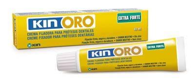 KIN ORO - Creme fixador para prótese dental