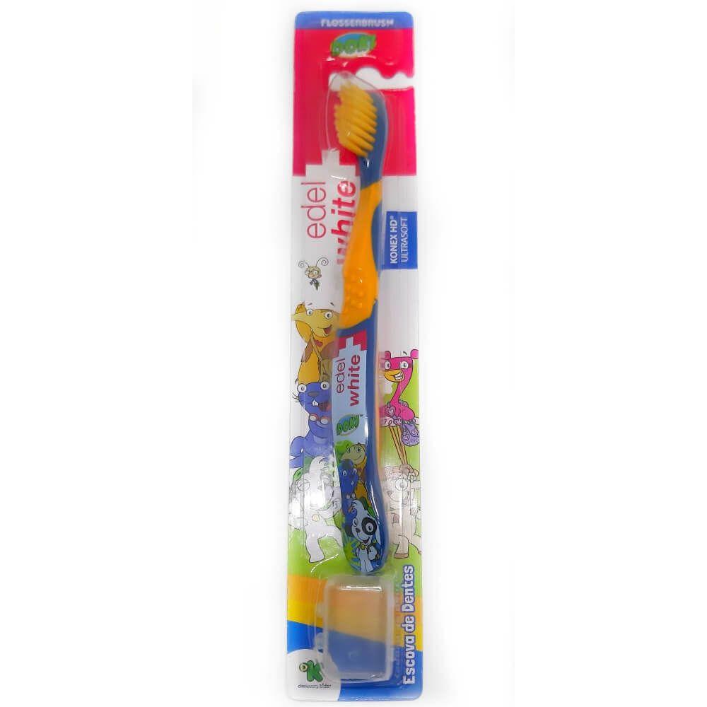 Kit 10 unidades Escova Dental Infantil - DOKI Discovery Kids