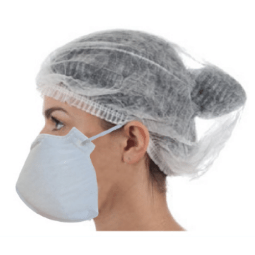 Kit 5x Máscara Descartável de Proteção Neve -  PFF2(S)