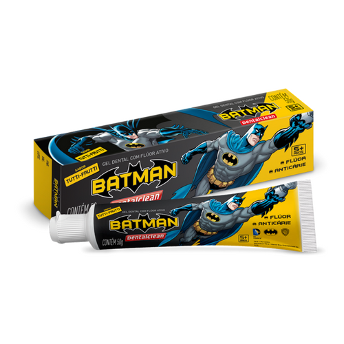 Kit Batman (Escova Elétrica + Escova Manual + Pasta Batman)