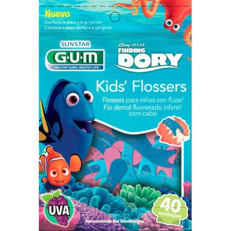 Kit Dory Higiene Oral (2 escovas+40 flossers GUM)