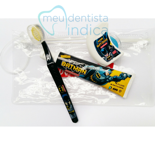 Kit Escolar Batman - Higiene Oral